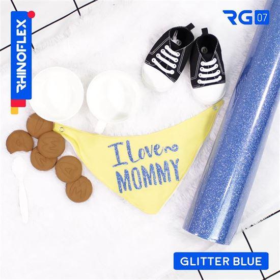 Polyflex Glitter RG-07 BLUE