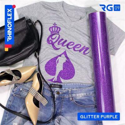 Polyflex Glitter RG-09 PURPLE