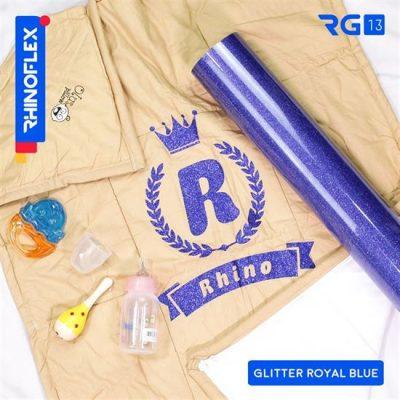 Polyflex Glitter RG-13 ROYAL BLUE