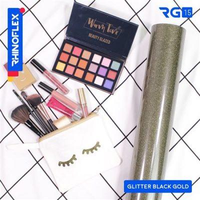 Polyflex Glitter RG-15 BLACK GOLD