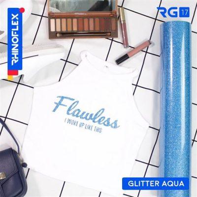 Polyflex Glitter RG-17 AQUA