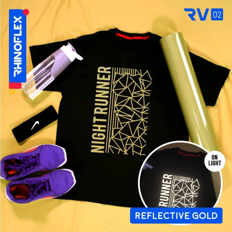 Polyflex reflective Gold RV-02