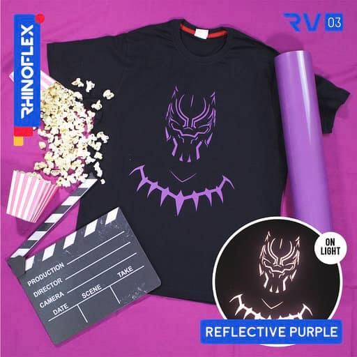 Polyflex reflective Purple RV-03