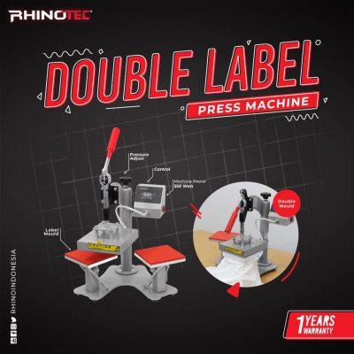 Mesin press label kaos distro