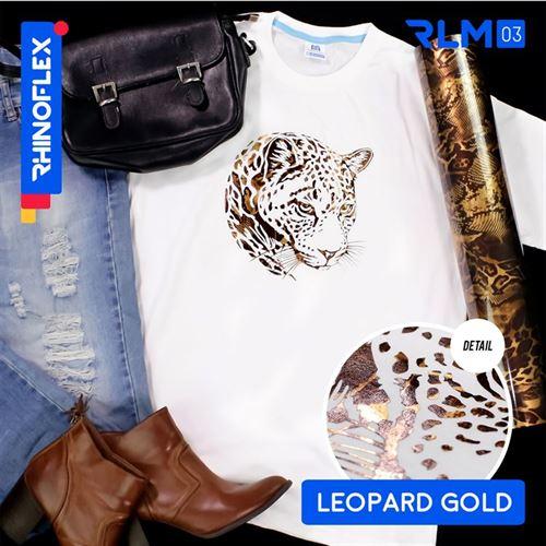 Rhinoflex Foil Motif RLM-03 LEOPARD GOLD