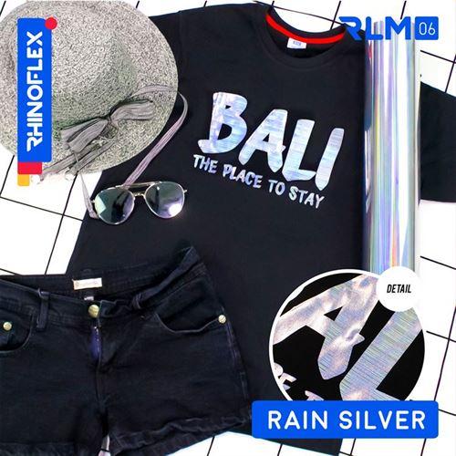Rhinoflex Foil Motif RLM-06 RAIN SILVER