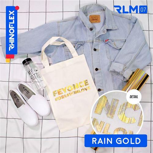 Rhinoflex Foil Motif RLM-07 RAIN GOLD