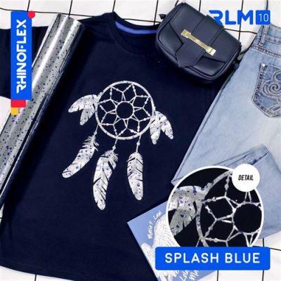 Rhinoflex Foil Motif RLM-10 SPLASH BLUE