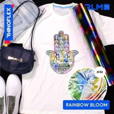 Rhinoflex Foil Motif RLM-11 RAINBOW BLOOM