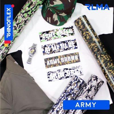 Rhinoflex Foil Motif RLMA ARMY