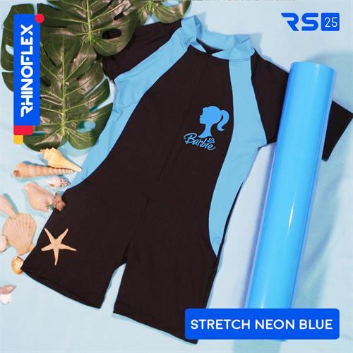 rhinoflex stretch RS-25 NEON BLUE
