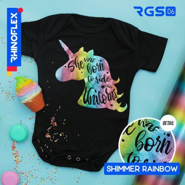Rhinoflex Shimmer Rainbow RGS-06