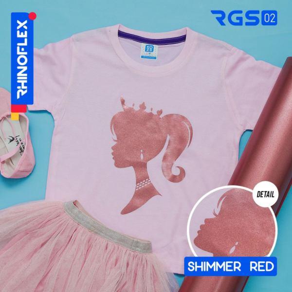 Rhinoflex Shimmer Red RGS-02