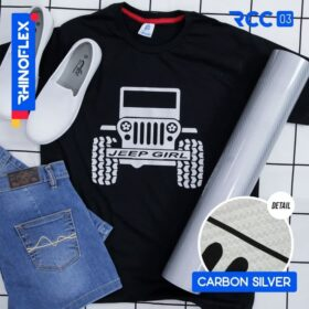 Rhinoflex Carbon Silver - RCC-03